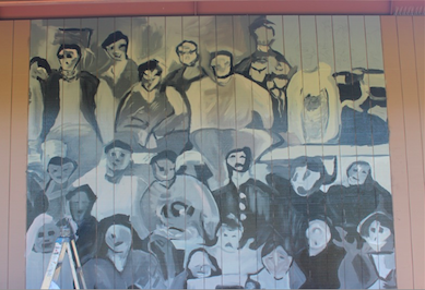 Admin removes James Franco mural from Student Center