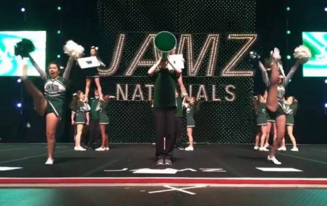 Cheerleading team receives third place at nationals