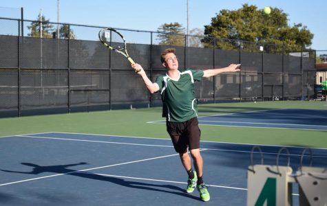 Boys' tennis splits matches against Cupertino