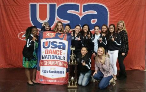 Dance team triumphs at national competition