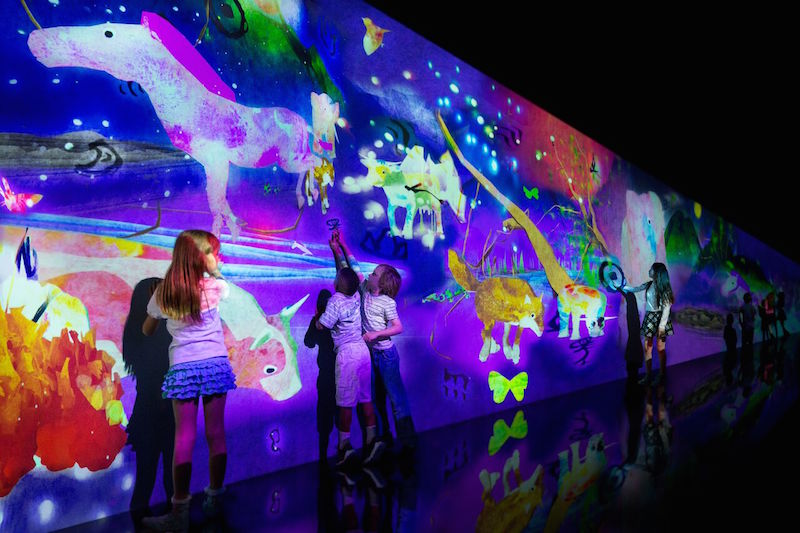 TeamLAB: A spellbinding blend of art and technology