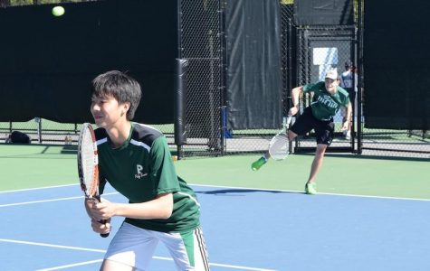 Boys' tennis loses to cross-town rival Gunn