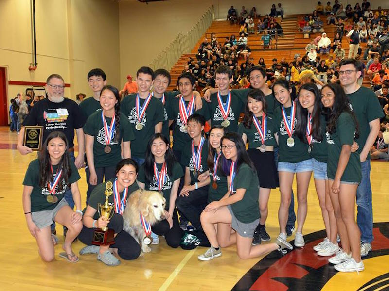 Science Olympiad team places second at States