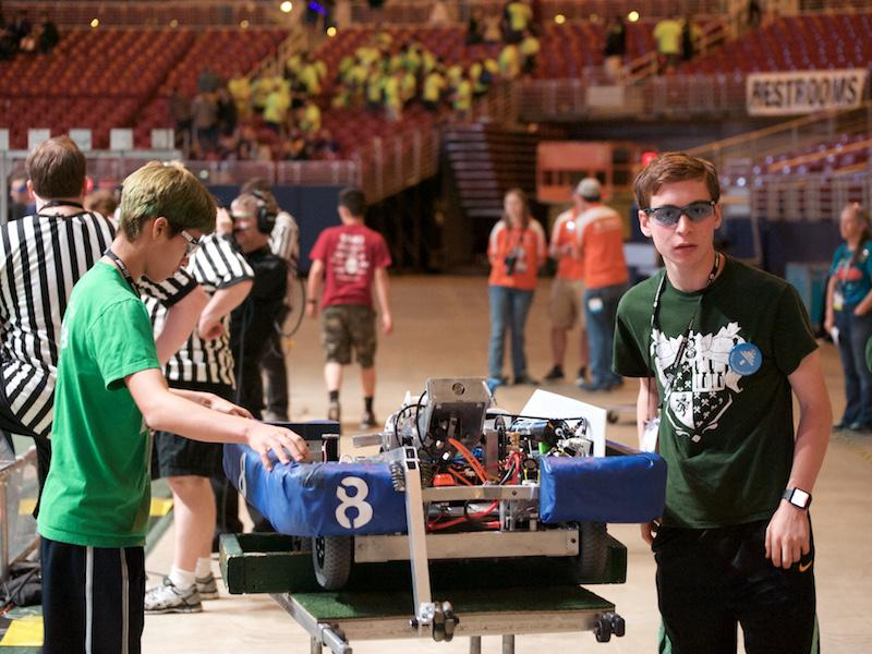 Robotics team excels at World Championships