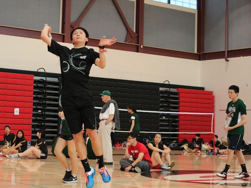 Badminton players win at Leagues, head to CCS