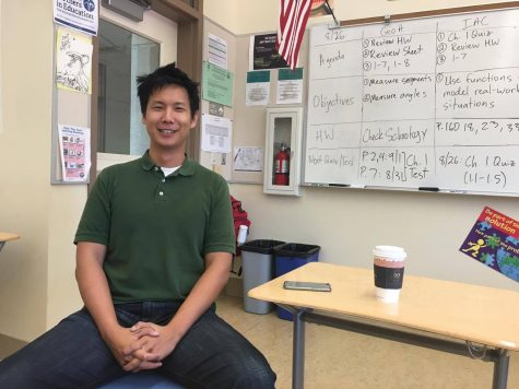 Coffee Chat: New math teacher Daniel Nguyen