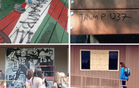 Vandalism throughout the year