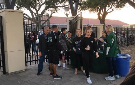 Administration enforces new entrance policy at football game