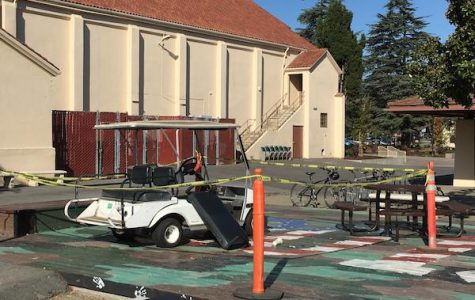 Stolen Stanford golf cart appears on campus