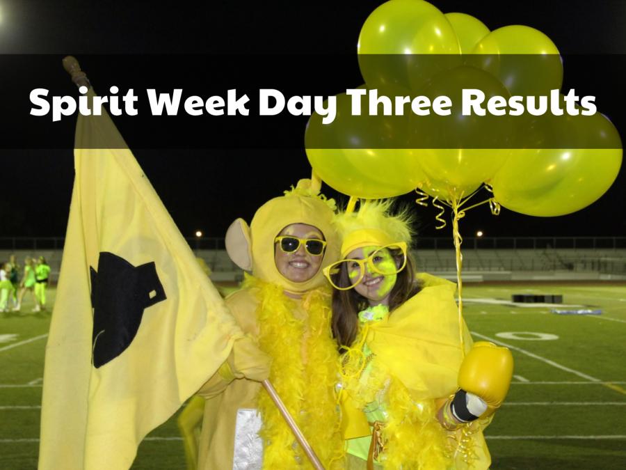 Spirit Week Day Three results