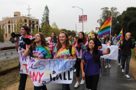 Slideshow: Students march through town