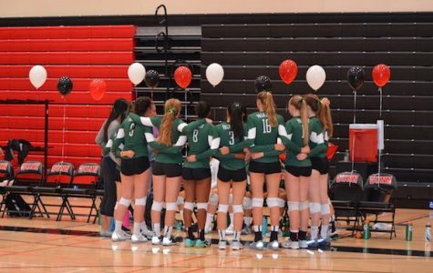 Volleyball celebrates improvement, looks to future success