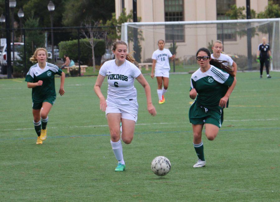 Slideshow: Girls' soccer pulls off hard-fought win