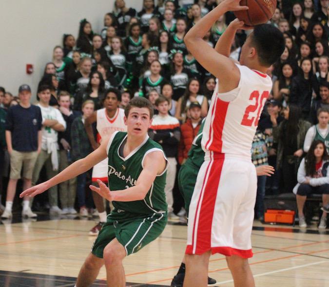 Boys' basketball obliterates Gunn Titans in lopsided matchup