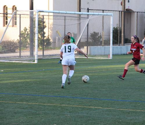 Girls' soccer remain undefeated as they triumph over Saint Francis