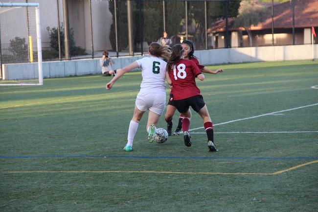 Undefeated girls' soccer heads into CCS after shutout win against Fremont