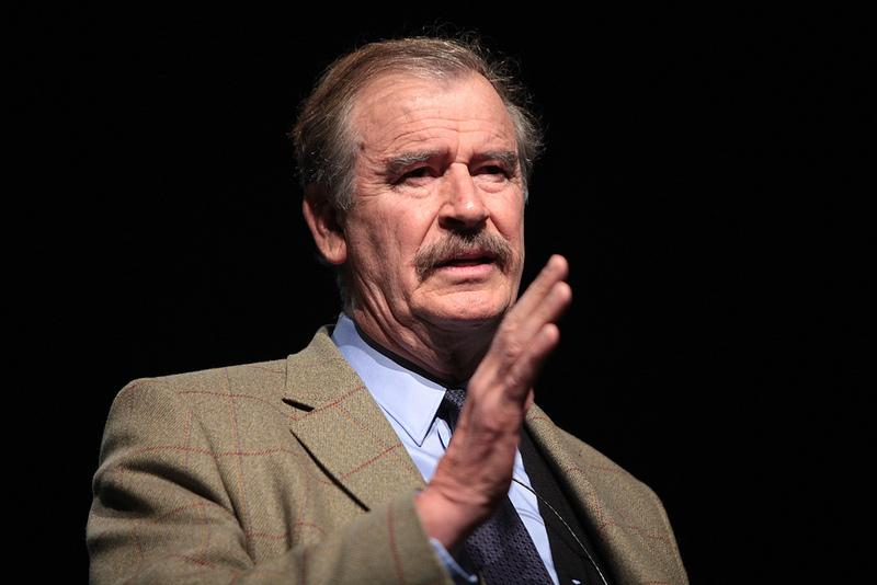 Vicente Fox, the former president of Mexico, who has gone final for standing upto President Trump regarding his proposed wall, will be speaking in the Media Arts Center. Photo: Creative Commons
