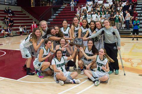 Girls basketball wins second straight CCS championship