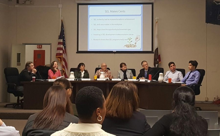 The Palo Alto Board of Education is still working to specify the language used in the OCR resolution. Photo: Zahra Muzaffar