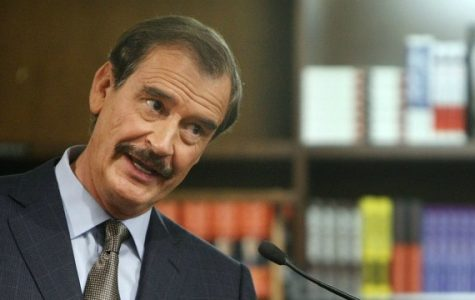 Liveblog: Former Mexican President Vicente Fox speaks on campus