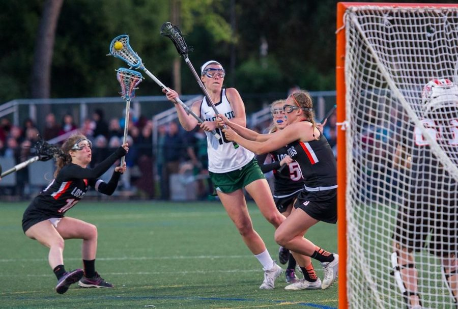 Recap: Girls lacrosse falls to Los Gatos for second time this week
