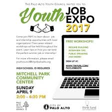 Students attend Palo Alto Youth Job Fair