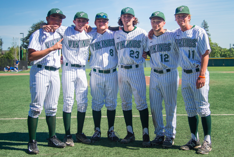 The Palo Alto High School baseball team will graduate six seniors after a successful season cut short by an early CCS loss. Photo by David Hickey.