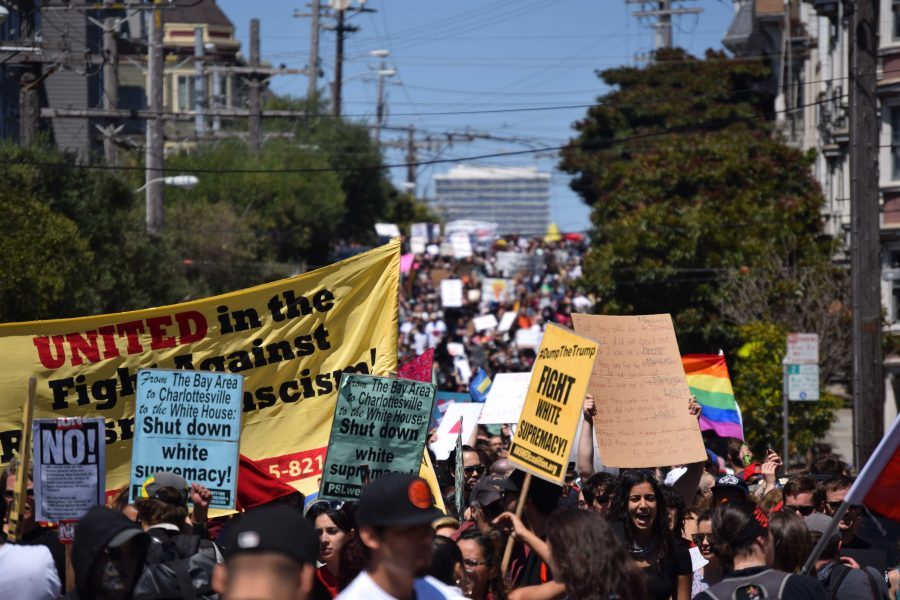 Thousands participate in San Francisco anti-hate march