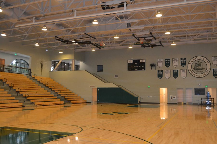 The new gym for the Peery center [[fix cap]]] Photo By: Kasra Orumchian