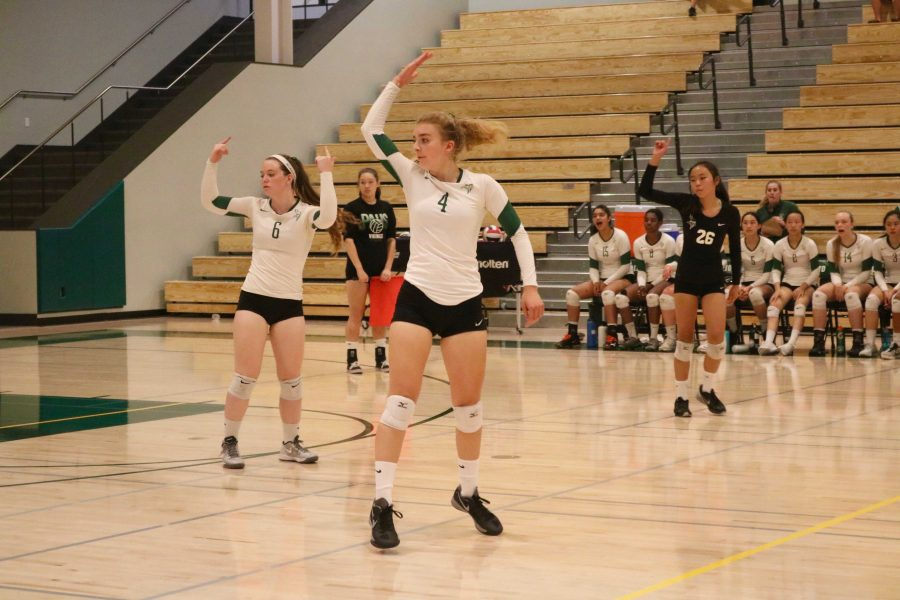 Competition for girls' volleyball intensifies with busy home schedule