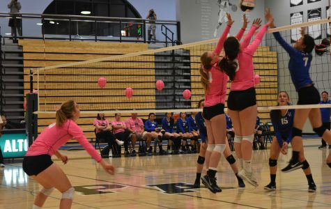 Recap: Vikings take Dig Pink match in four sets