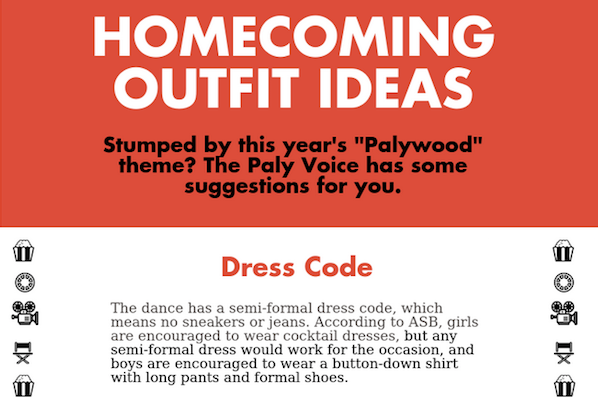 Palywood homecoming outfit ideas