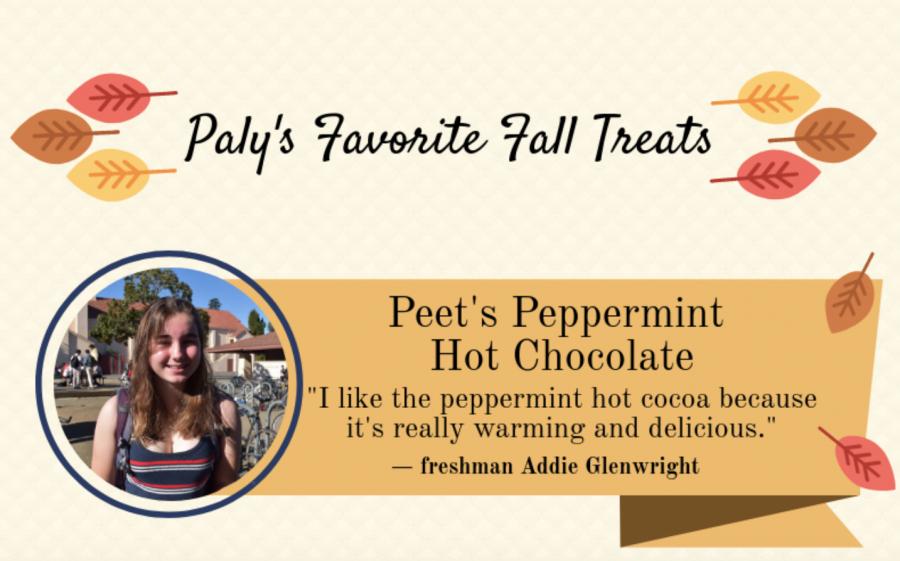 Verbatim: Students' favorite fall snacks