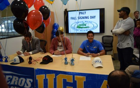 Three students officially commit to NCAA, 12+ verbally commit
