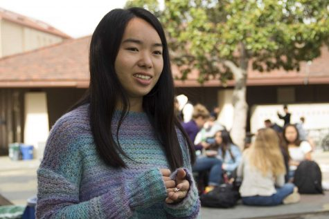 Palo Alto High School senior and organizer of the 2016 Palo Alto Peace March, Hana Morita, speaks about her involvement in activism. Morita is one of the founders of the student-run publication Anthro, a magazine that provides a platform for students from Paly, Gunn High School, and Stanford University to share opinions and promote activist causes. According to Morita, the magazine was originally founded as a perspective magazine, but has evolved into a platform for activism following the 2016 election.