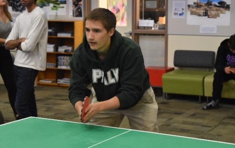 Senior duo snags win at ASB Ping Pong Tournament