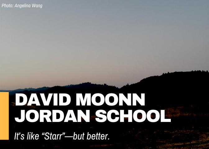 David Moon Jordan School
