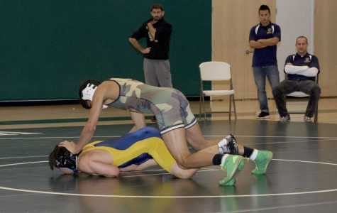Wrestling destroys Milpitas High School in first home meet