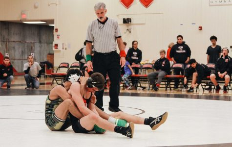 Paly wrestling defeats crosstown rival Gunn