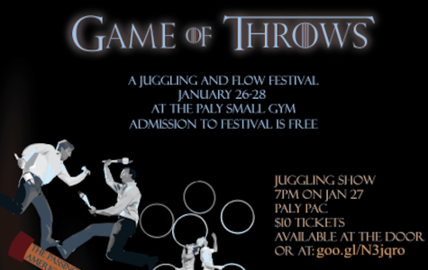 """Game of Throws"" juggling festival to open tonight"