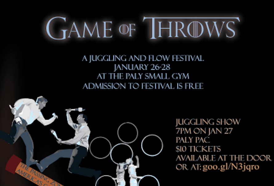 Game of Throws juggling festival to open tonight