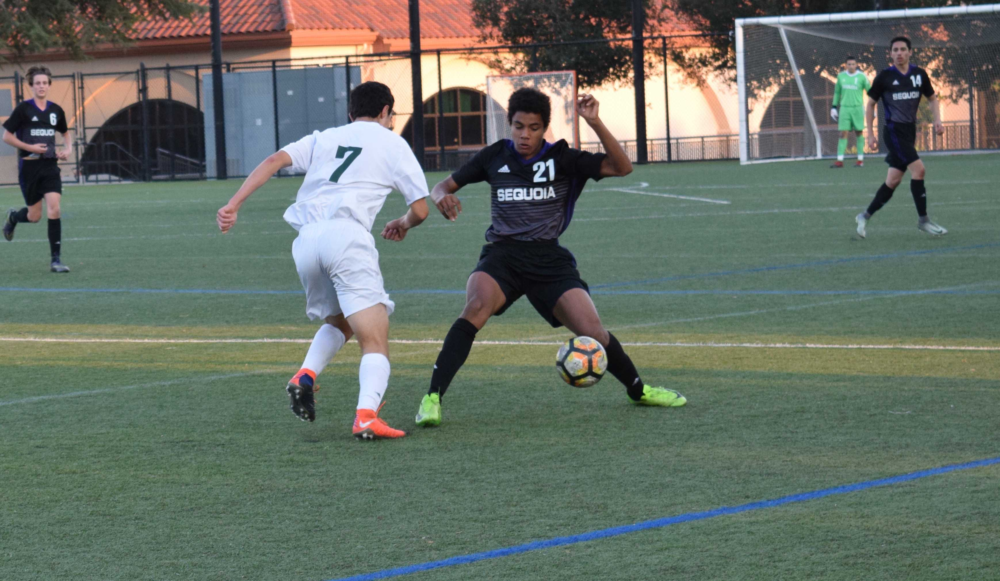 boys soccer to face undefeated los gatos on senior night the paly