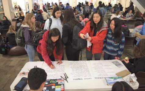 Students organize activities in response to Parkland shooting