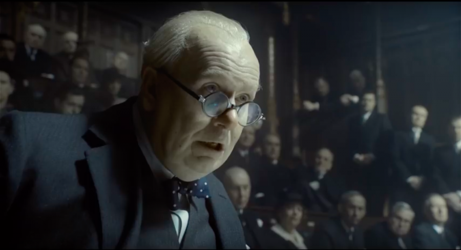 'Darkest Hour' gracefully recounts Churchill's political journey