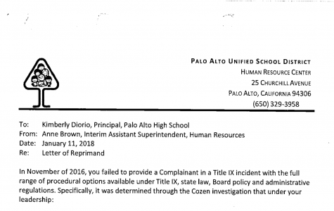 Timeline: Putting Diorio's Letter of Reprimand into context