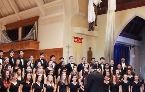 "Paly choir concert takes audience ""around the world"""