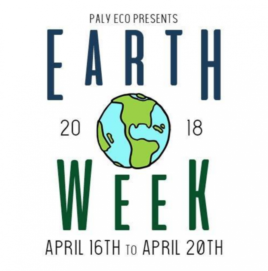 Earth Week to educate students about environmental sustainability