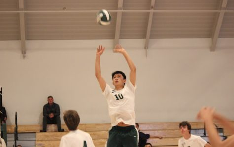 Boys' volleyball faces Gunn in final home game