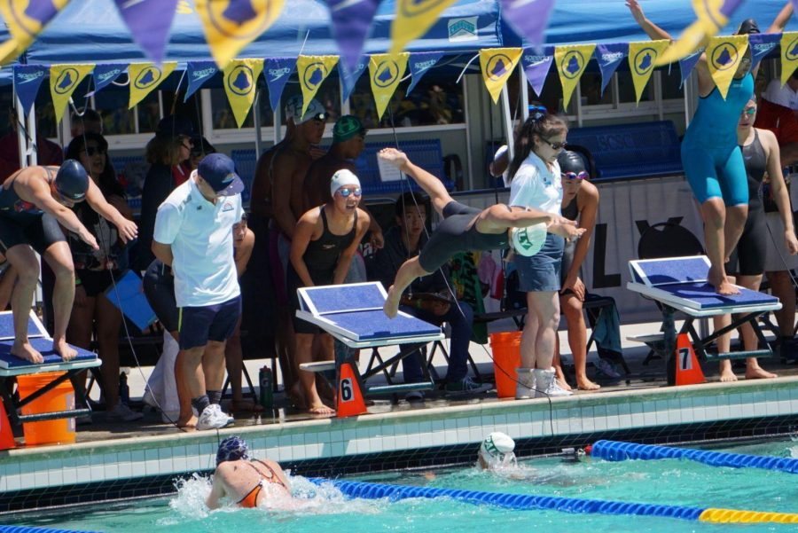 Swim season ends after CCS competition