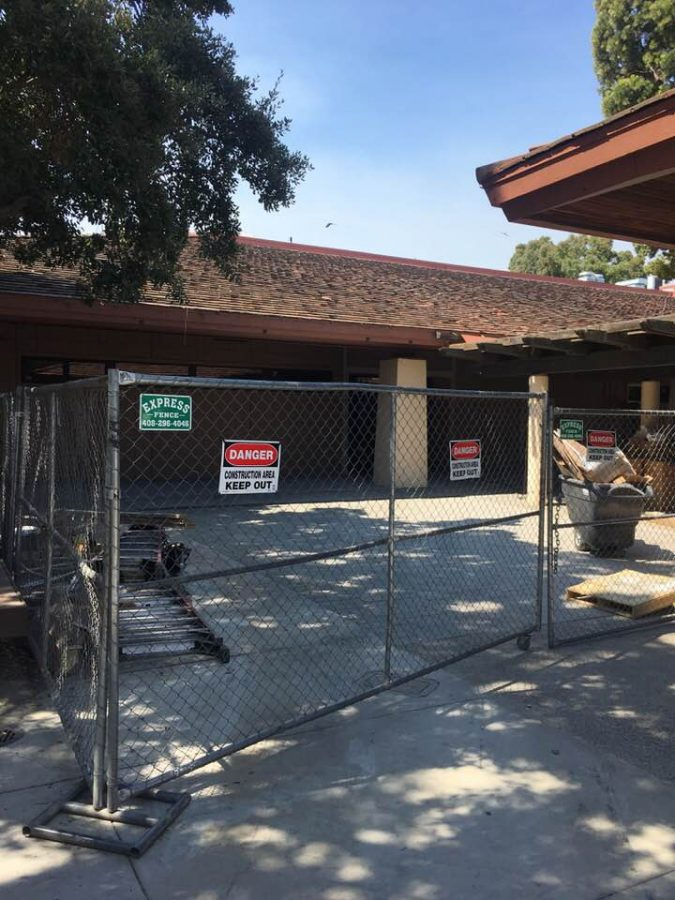 Library construction update: Remodeling to finish sometime in November